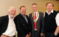 Dr Larry Fullam, Dr Liam Lynch, Dr Ronan Boland and Dr Ray Hawkins