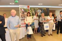 Delegates attending the exhibition at the AGM