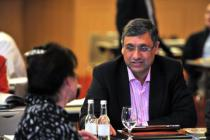 Dr Asam Ishtiaq and Dr Mary Gray, IMO AGM 2012