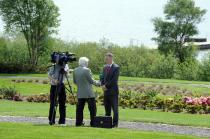 Dr Ronan Boland, IMO President is interviewed for TG4